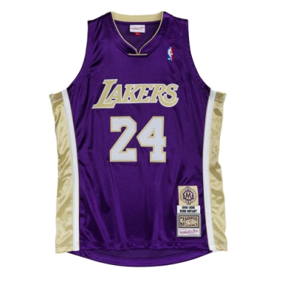 M&N Authentic球員版復古球衣 名人堂 湖人隊 96-16 #24 Kobe Bryant