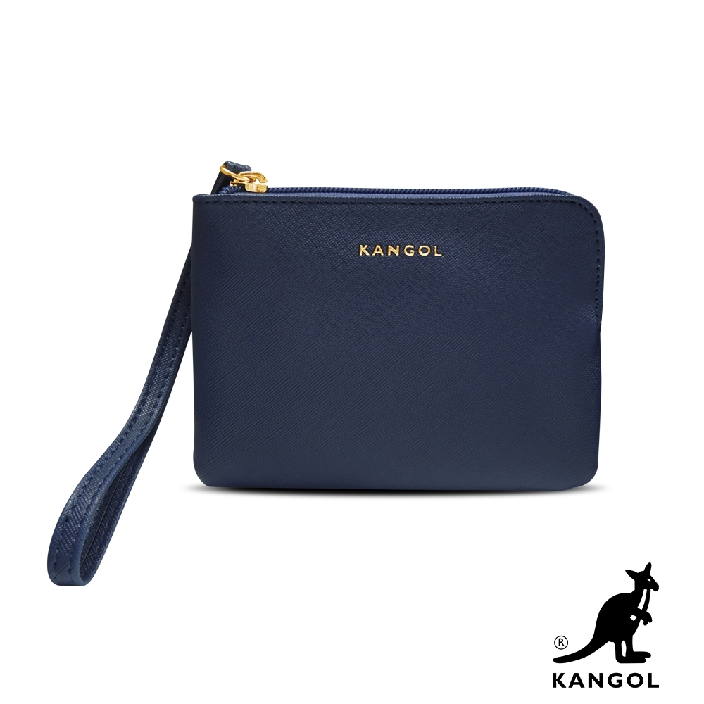 KANGOL L型單層拉鍊手拿/零錢包-任選 6125 product image 1