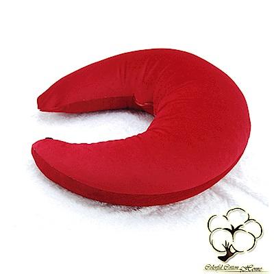 采棉居寢飾文化館 月型多用途抱枕