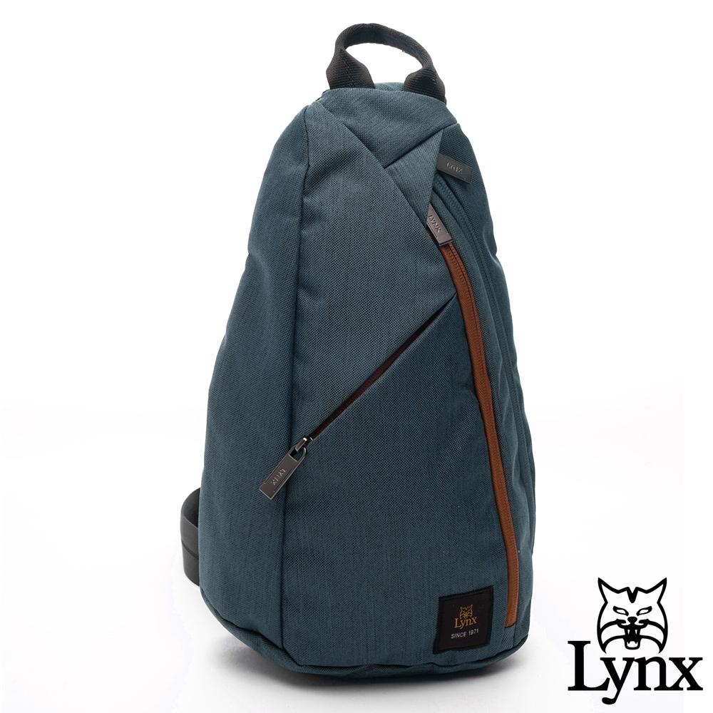 Lynx - 美國山貓防潑流線型多口袋單肩包