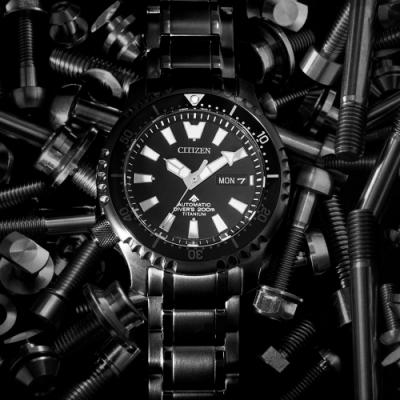 CITIZEN PROMASTER 黑豹特遣隊200米潛水錶(NY0105-81E)42mm