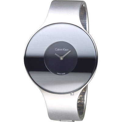 Calvin Klein Seamless 魔幻個性時尚手環錶(K8C2M111 )黑