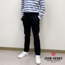 【JOHN HENRY】舒適百搭寬鬆長褲(二色)