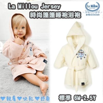 La Millou 篷篷嬰兒兒童睡袍浴袍_標準6M-2.5Y-大力水手(雲朵白)