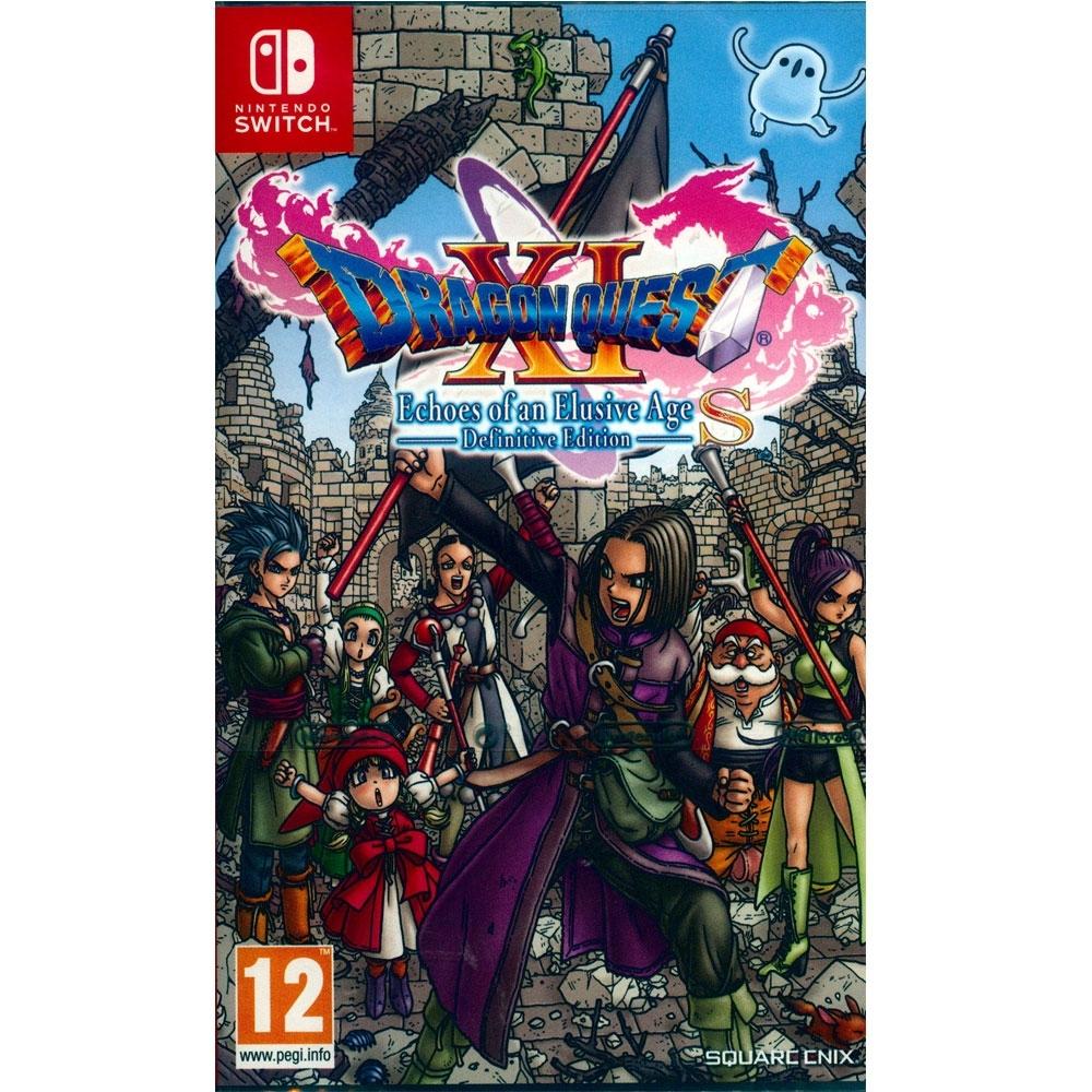 勇者鬥惡龍 XI S 尋覓逝去的時光–Definitive Edition DragonQuest XI: Echoes of an Elusive Age S - NS Switch 中英日文歐版