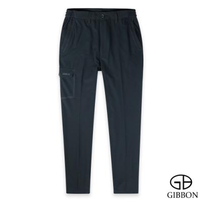 GIBBON 吸濕彈力輕量機能運動長褲-二色