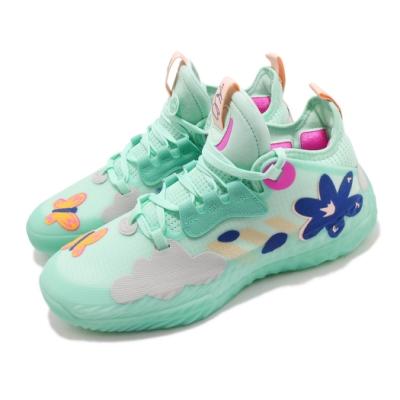 adidas 籃球鞋 Harden Vol 5 哈登 運動 男鞋 Futurenatura 避震 包覆 綠 彩 H68685