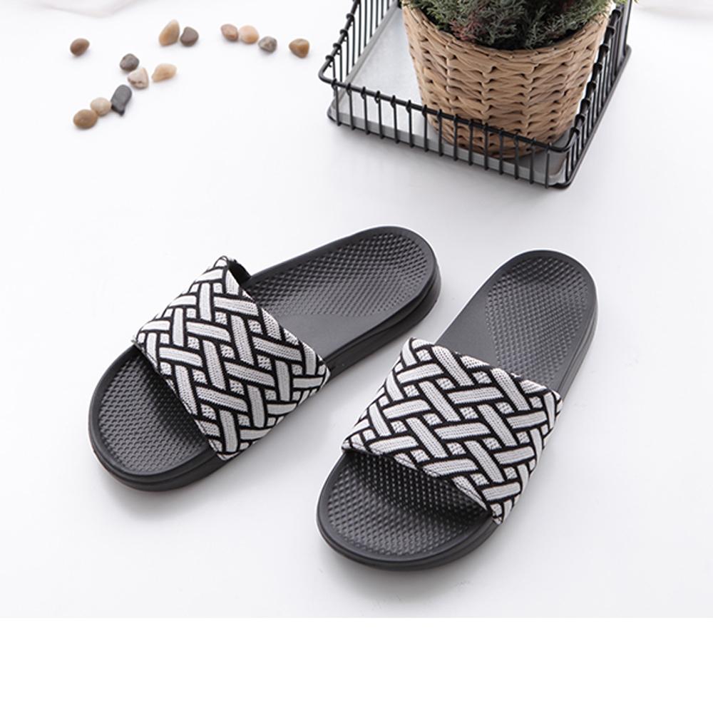 FunPlus+ 極簡質感室外拖鞋-灰