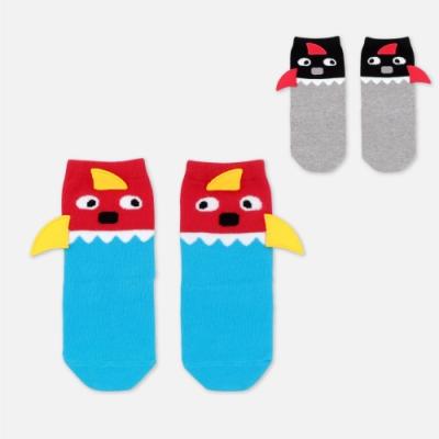 WHY AND 1/2 鯊魚造型中長襪 多色可選