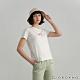 GIORDANO  女裝Positive印花T恤 - 02 皎白 product thumbnail 1