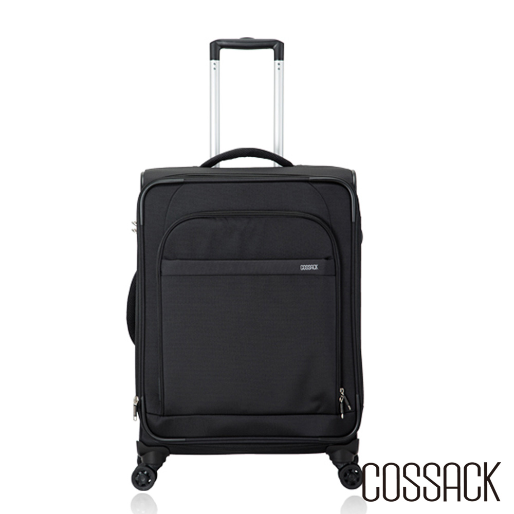 Cossack-LEADING領航 3 -24吋可放大行李箱(黑色)