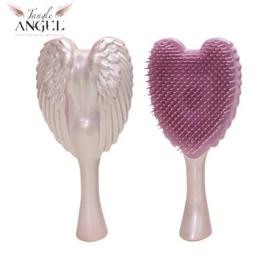 Tangle Angel 英國凱特王妃御用天使梳-香檳粉紅14.8cm輕巧版(王妃梳 天使梳 美髮梳 梳子)