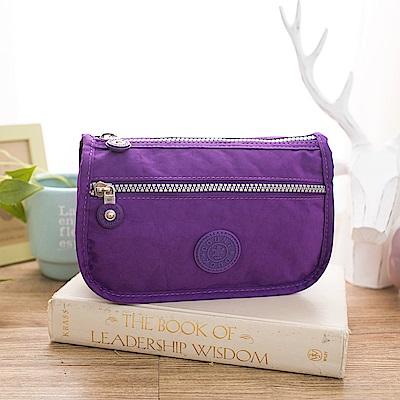 COUNT DUCK 美系悠活輕量化妝包-KS001-紫色