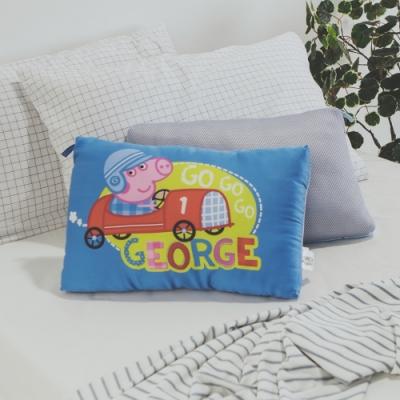 絲薇諾  正版授權  兒童天絲水洗枕1入 - 佩佩豬-喬治GO藍