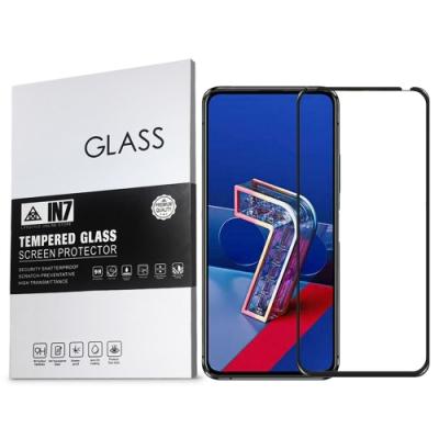 IN7 ASUS ZenFone7/7 Pro ZS670KS/ZS671KS 高清 高透光2.5D滿版9H鋼化玻璃保護貼 疏油疏水 鋼化膜