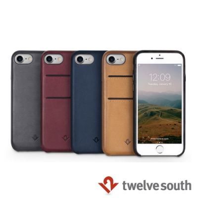 Twelve South iPhone 7/8 卡夾皮革保護背蓋