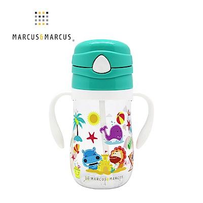 【MARCUS&MARCUS】動物樂園Tritan吸管學習杯-大象