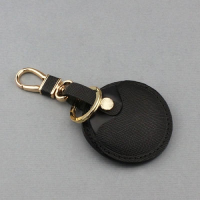 J II 十字紋黑色-gogoro專用鑰匙皮套-OMC