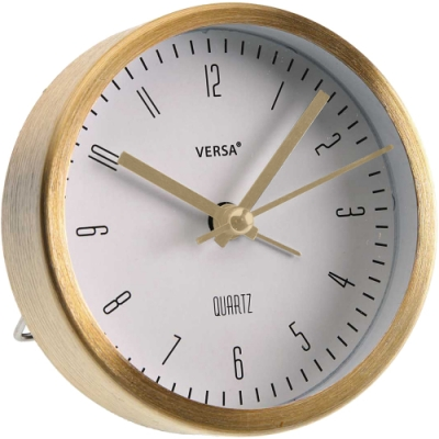 《VERSA》桌面鬧鐘(白金9cm)