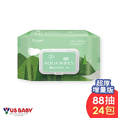 優生純淨柔濕巾88抽-超厚型24包