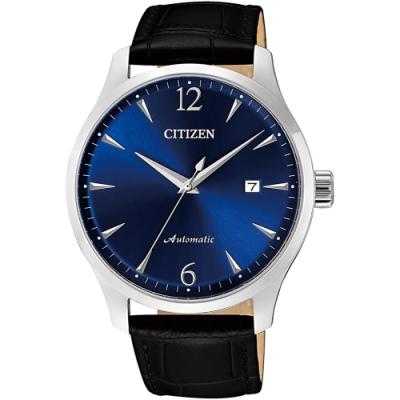 CITIZEN星辰 限量經典紳士機械錶(NJ0110-18L)