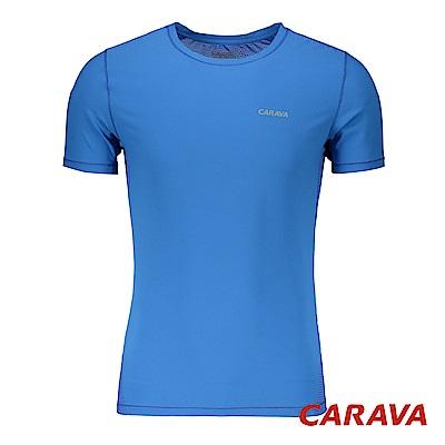CARAVA《男款氣冷式涼爽T》(海藍)