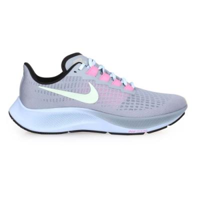 NIKE AIR ZOOM PEGASUS 37 男慢跑鞋-運動 路跑 飛馬 BQ9646401 紫淺綠粉紅