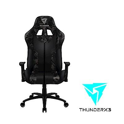 【ThunderX3】BC3  CAMO系列 電競賽車椅(迷彩灰)