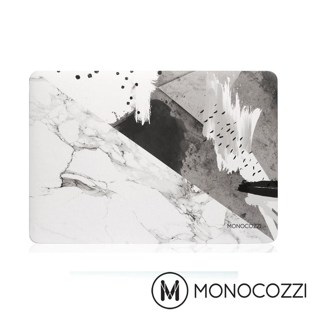 "MONOCOZZI 圖騰保護殼 Macbook Pro 13 ""(USB-C)-大理石水墨"
