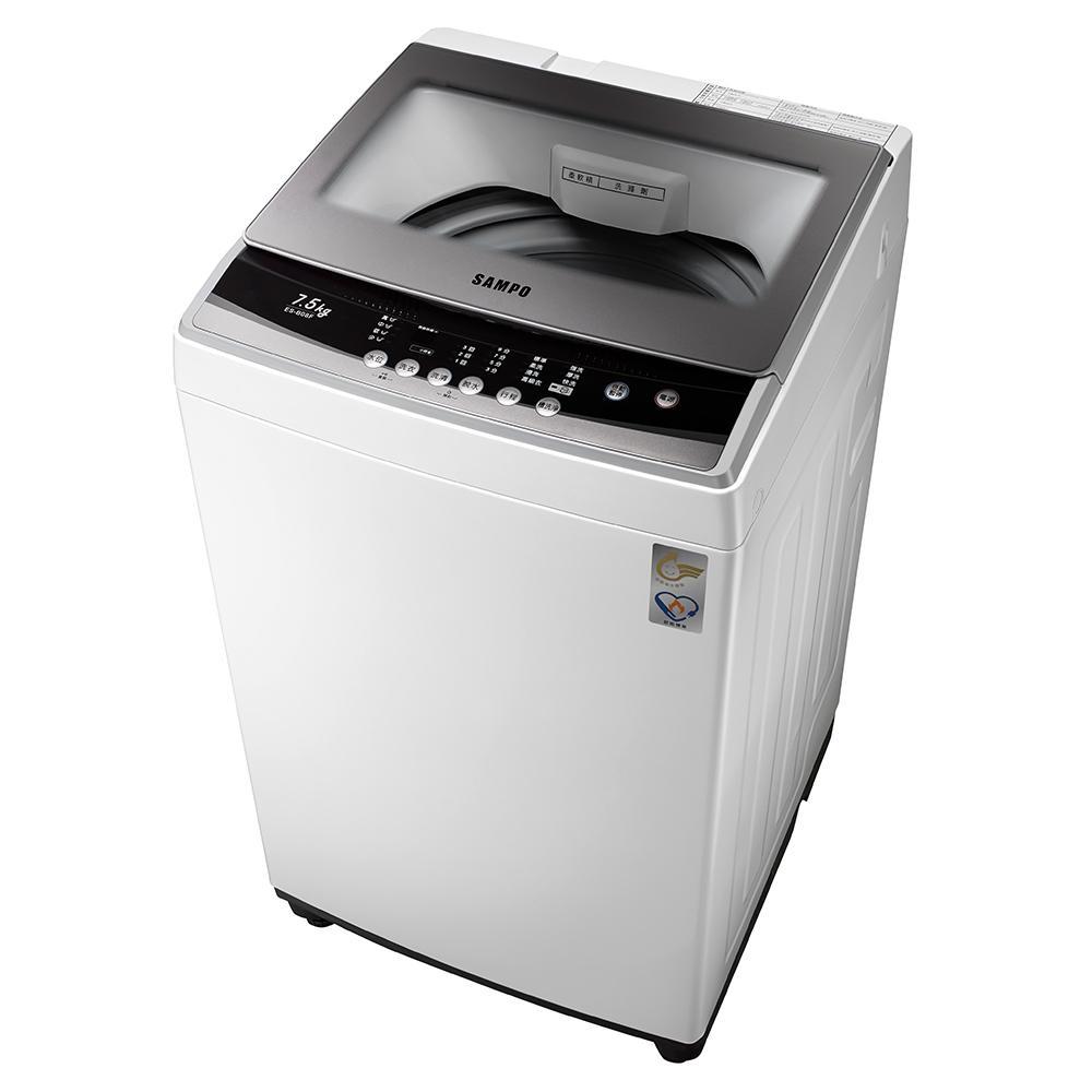 SAMPO聲寶 7.5KG 定頻直立式洗衣機 ES-B08F 珍珠白
