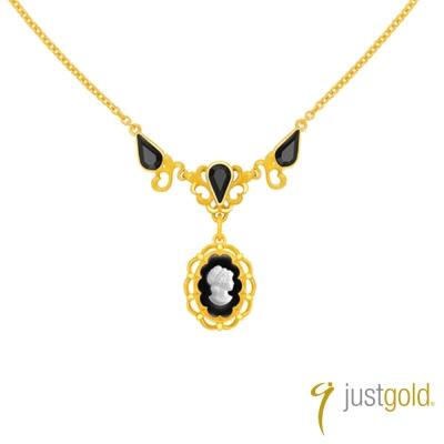 鎮金店Just Gold女皇系列- 純金項鍊