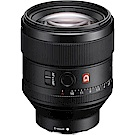 SONY G鏡 FE 85mm F1.4 GM 全片幅定焦鏡頭(平輸)