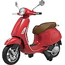 原廠授權 VESPA偉士牌童用摩托車(紅)