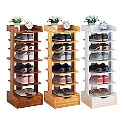 【CityShop】D4270-B直立木製鞋架-7層