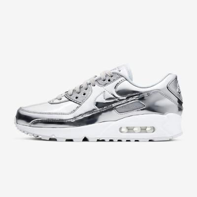 Nike Air Max 90 SP 女休閒鞋-銀白-CQ6639001