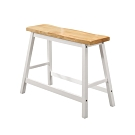 Bernice-夏菲2.8尺白色實木吧台椅/高腳椅/休閒椅-83x23x60cm