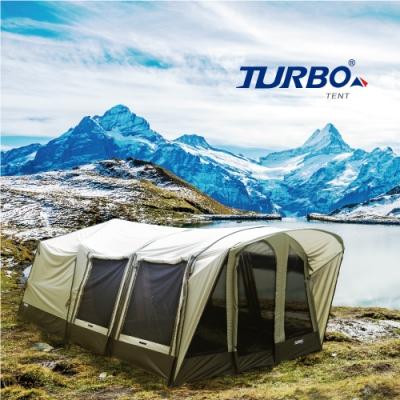 【Turbo Tent】Lodge 360 十二人 六腳快速帳篷 2020版(豪華版CC22)