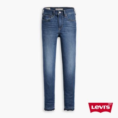 Levis 女款 721 高腰緊身窄管牛仔褲 四向彈性延展 下放褲管及踝款
