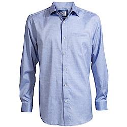 CR7-長尖領細圓點襯衫-藍( 8600-7300-15)