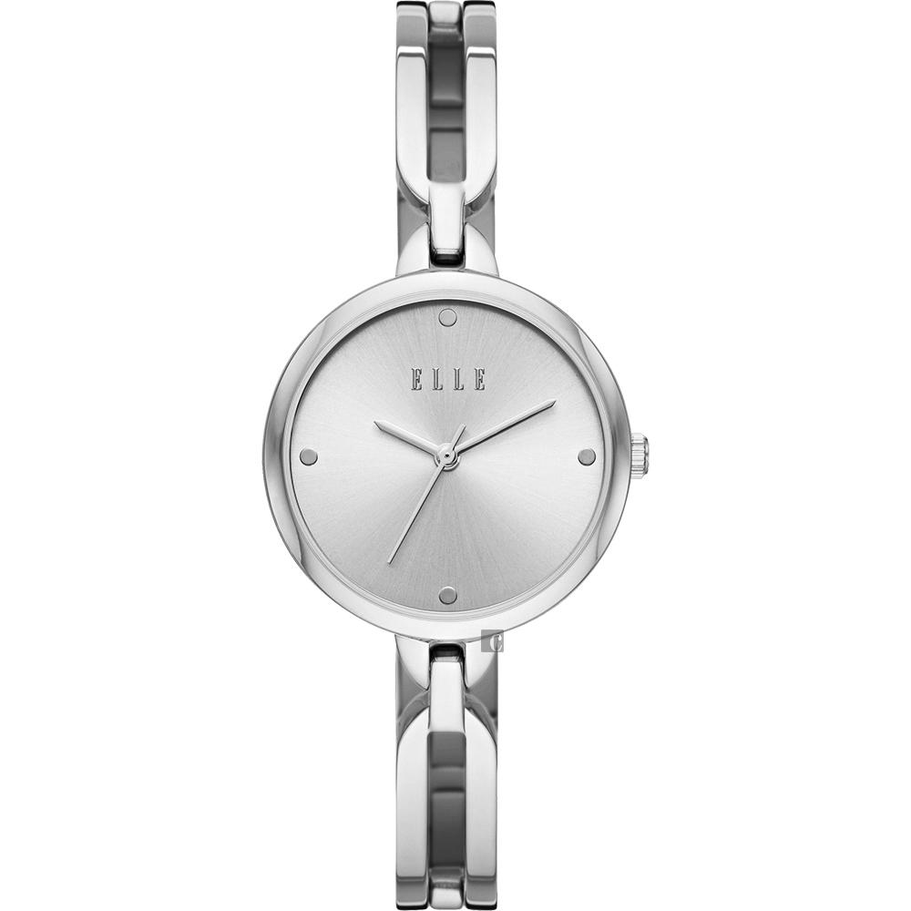 ELLE Wagram 系列 手鍊式時尚女錶-銀/32mm ELL21012