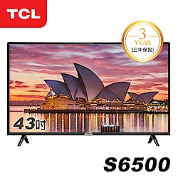 TCL 43吋S6500系列 FHD智能液晶顯示器