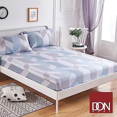 DON寧靜星空 加大親膚極潤天絲床包枕套三件組