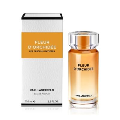 Karl Lagerfeld 卡爾 蜜珀蘭花女性淡香精100ml+隨機品牌小香x2