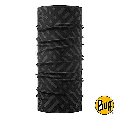 《BUFF》4倍保暖THERMONET動態恆溫頭巾 隱匿線條 BF117982-901