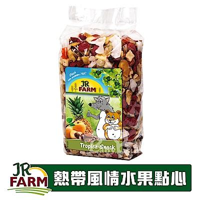 德國JR FARM-熱帶風情水果點心200g/全天然營養補給/適合寵物鼠兔-02204