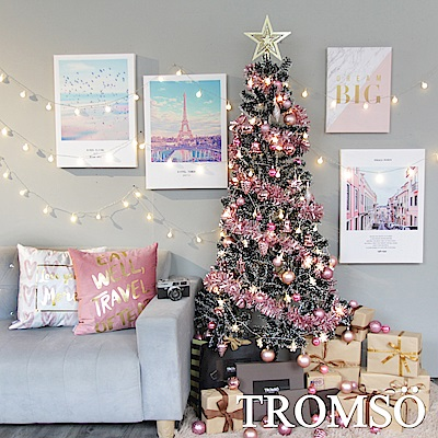TROMSO 2018下雪聖誕樹-比佛利時尚粉