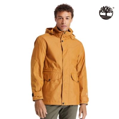 Timberland 男款小麥黃經典防水三合一外套|A2CU5