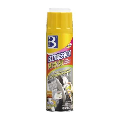 【BOTNY汽車/居家】多功能泡沫清洗劑650ML 附清潔刷頭 清潔 去污 居家 地毯