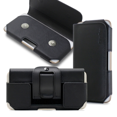 CITY 舒適頂級 for Samsung Galaxy M11/Samsung Galaxy A31/A51 真皮腰掛皮套