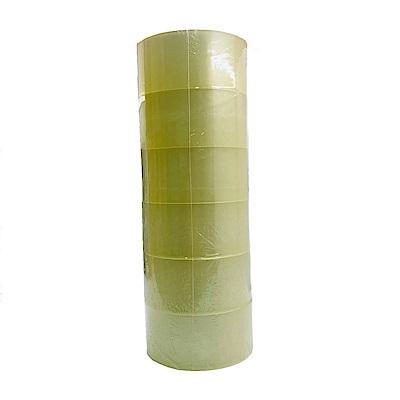 四維 透明封箱膠帶6入 (4.8cmX80m)